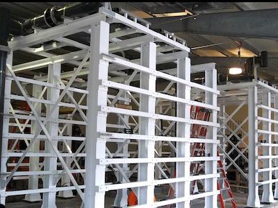 Membrane Skid Frame Design