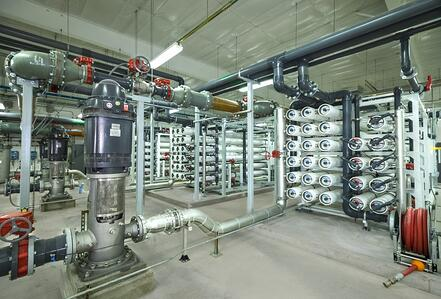 Central Iowa Reverse Osmosis Water Treatment Plant