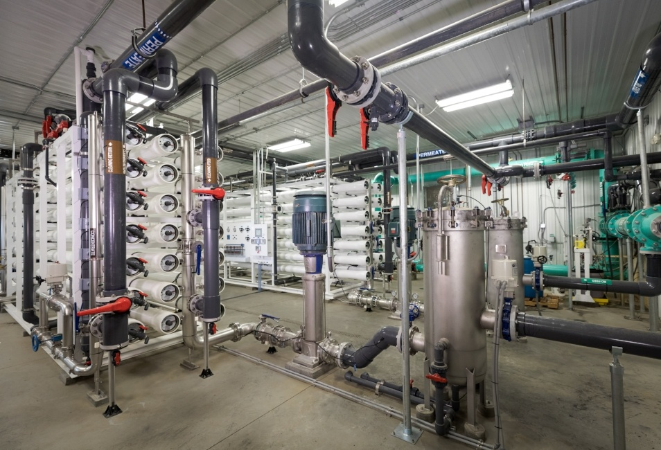 Grimes Iowa Reverse Osmosis Water Treatment Plant