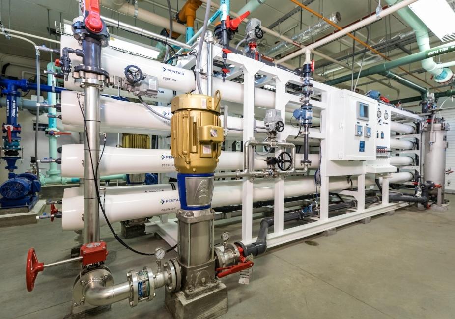 Hills Iowa Water Treatment Plant