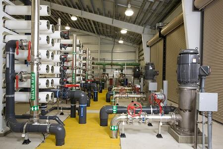 Lee County Pinewoods Florida Reverse Osmosis Water Treatment Plant