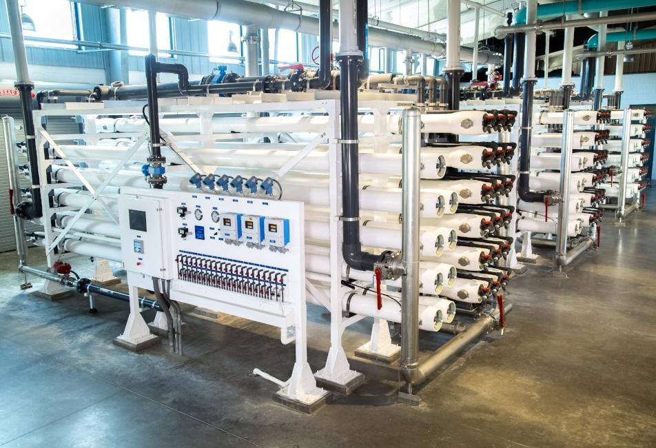 Oldsmar Florida Reverse Osmosis Water Treatment Plant