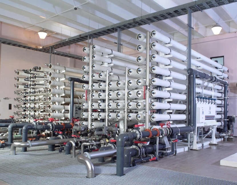 Palm Coast Florida Reverse Osmosis Water Treatment Plant