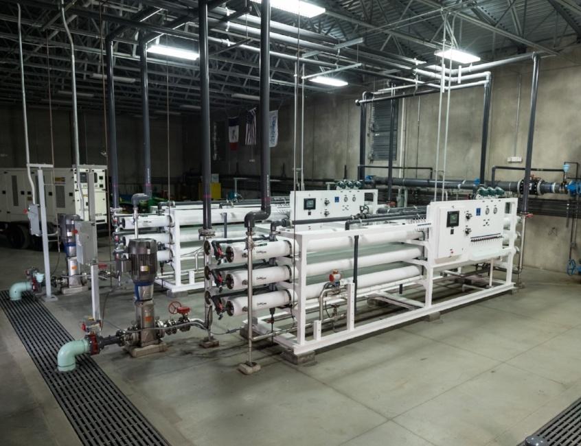 Poweshiek, Iowa Water Treatment Plant