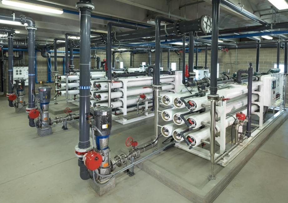 Riverside Iowa Reverse Osmosis Water Treatment Plant