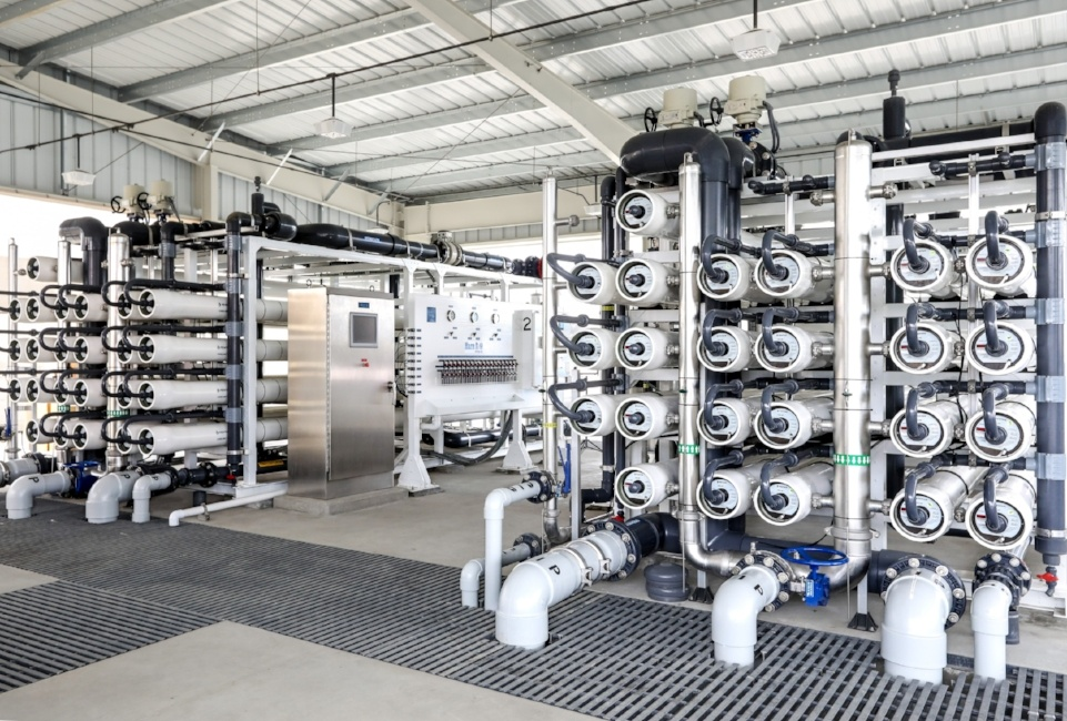 Signal Hill, California Water Treatment Plant
