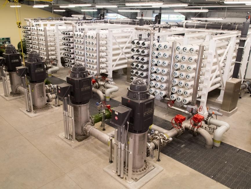 Tarpon Springs Florida Water Treatment Plant