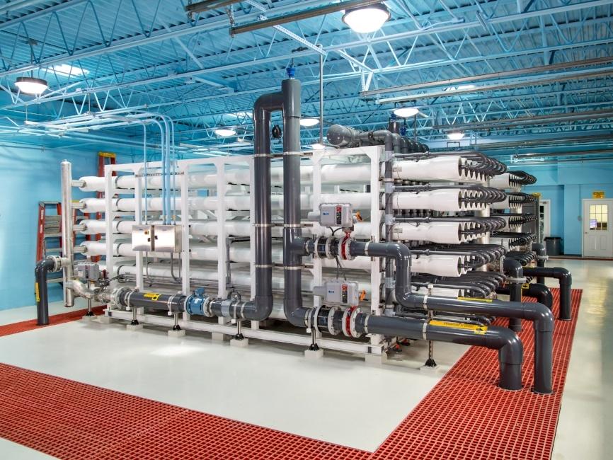 Venice Florida Water Treatment Plant