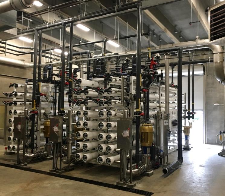 Washington, Iowa Water Treatment Plant