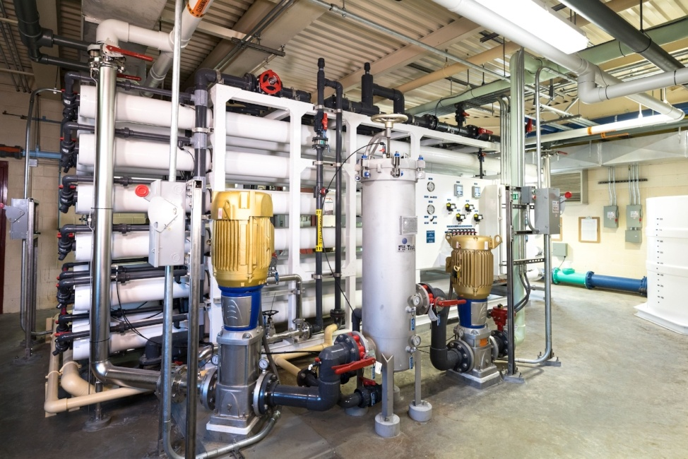 West Liberty, IA Reverse Osmosis Water Treatment Plant