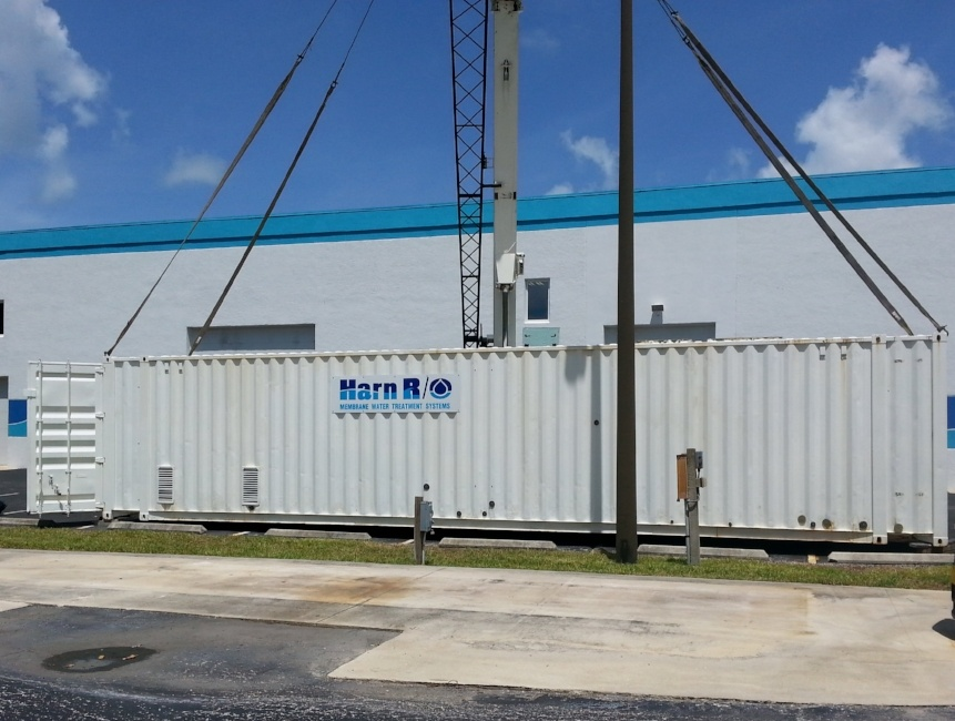 Containerized Seawater Desalination Reverse Osmosis Pilot System
