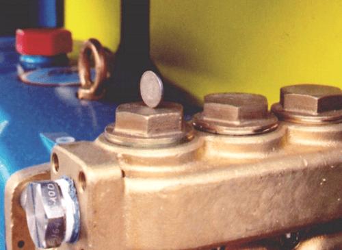 Desalination Seawater Pump Balancing a coin