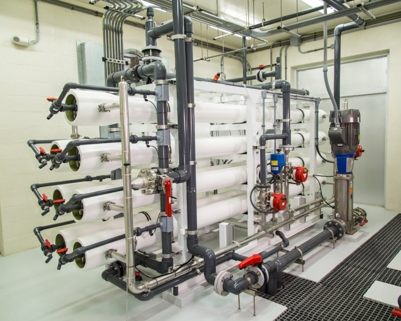 Desalination Seawater Reverse Osmosis RO Plant  in Key Colony Beach Florida