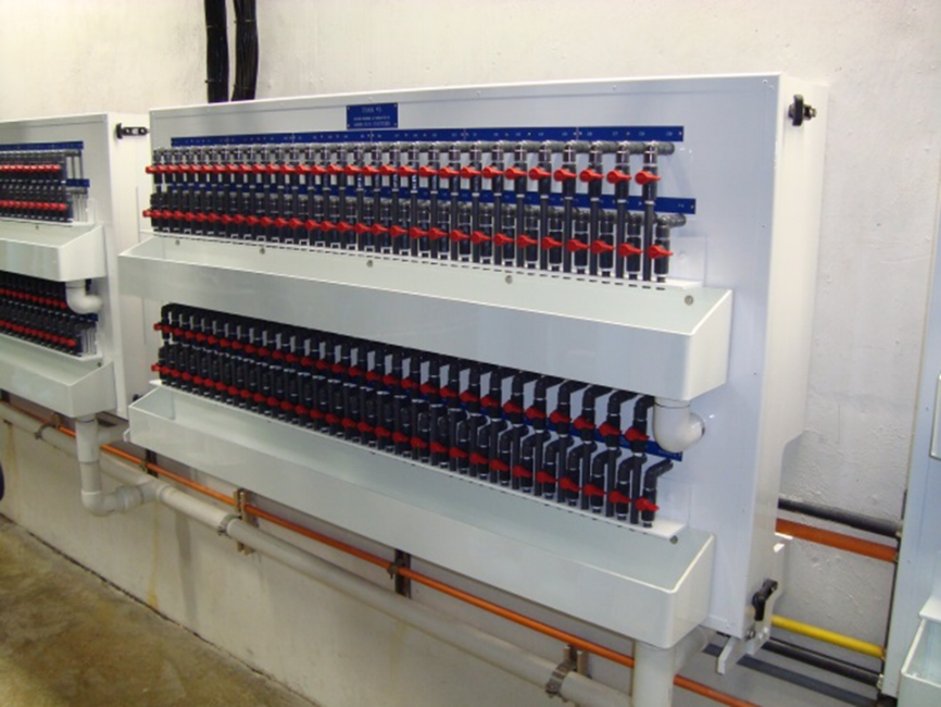 Reverse Osmosis Desalination Water Treatment Sample Panel