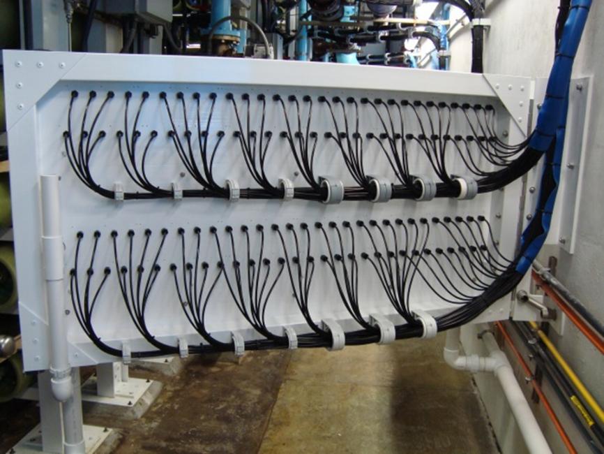 Reverse Osmosis Seawater Treatment Sample Panel