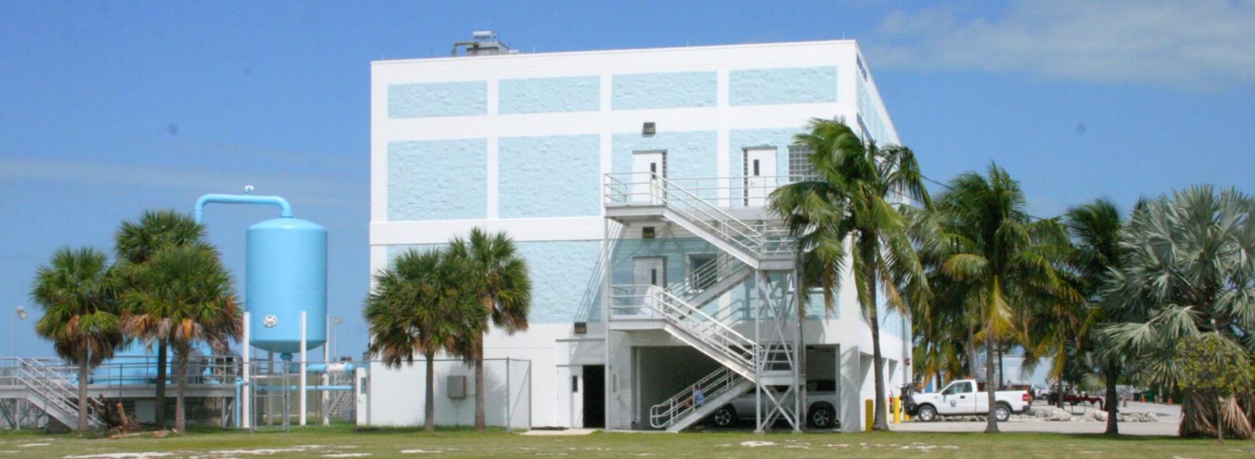 FKAA Stock Island Seawater RO Facility