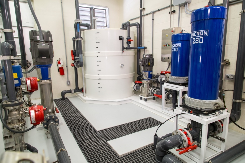 Seawater Reverse Osmosis RO Cleaning System in Key Colony Beach Florida